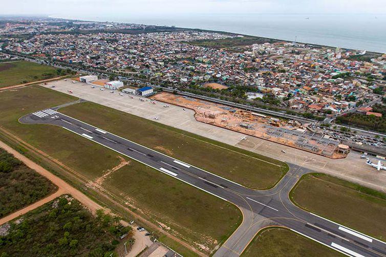 - Aeroporto de Macaé, arrematado por um grupo suíço -  strong Prefeitura de Macaé/Direitos Reservados /strong
