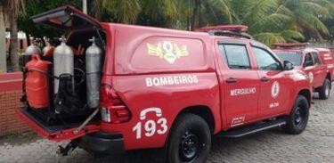 Corpo de Bombeiros do Rio de Janeiro - Divulgação/CBRJ