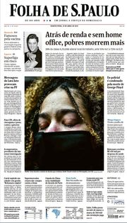 Capa do Jornal Folha de S. Paulo Edição 2021-04-21
