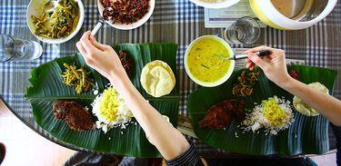 Alimentação ayurvédica em Kerala, Índia