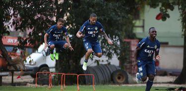 Treino do Flamengo no Ninho do Urubu