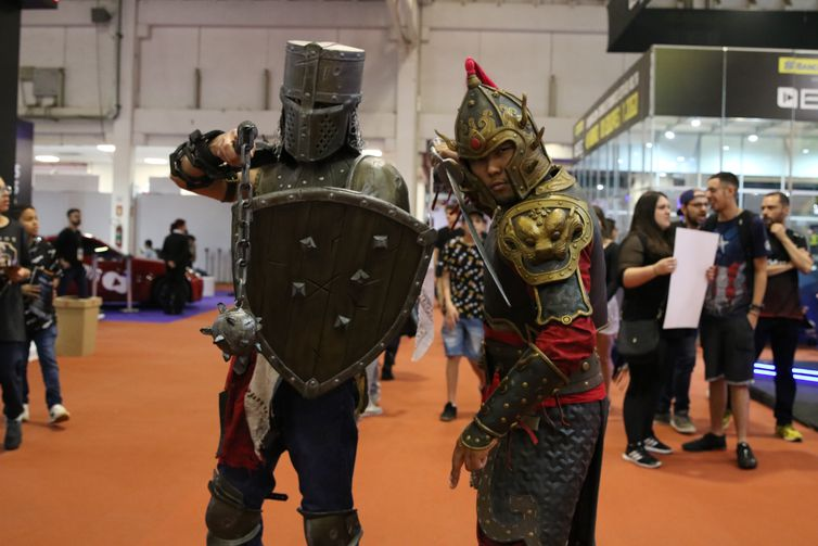 Brasil Game Show (BGS) 2019, maior feira de games da América Latina, no Expo Center Norte.