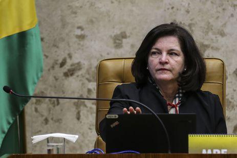 A procuradora-geral da República, Raquel Dodge, durante sessão extraordinária,  para a retomada do julgamento da ação direta de inconstitucionalidade (ADI 5794) que questiona o fim da contribuição sindical obrigatória.