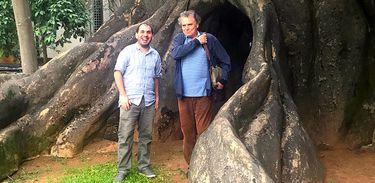 Rafael Galante e Arrigo Barnabé
