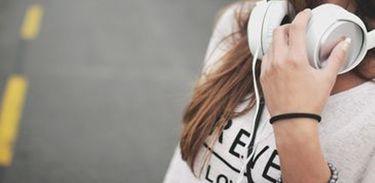 audição, fones de ouvido