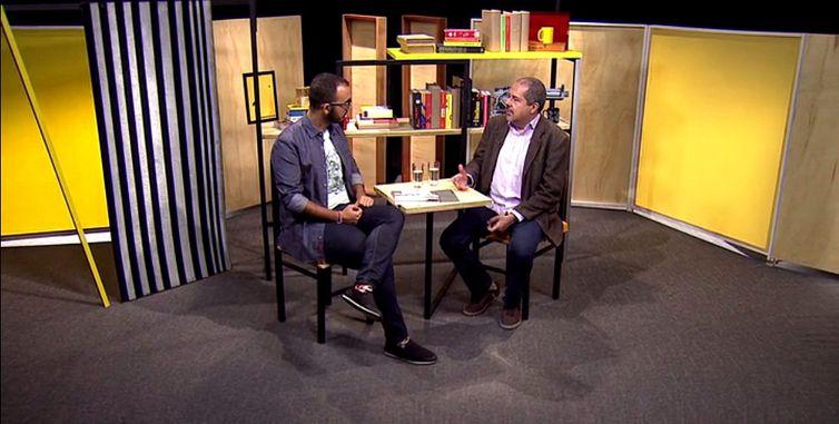 Raphael Montes e Chico Otávio no Trilha de Letra