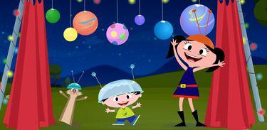 Luna, Júpiter e Claudio aprendem muitas coisas juntos