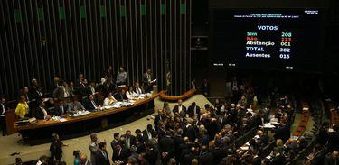 Câmara rejeita denúncia contra presidente Michel Temer