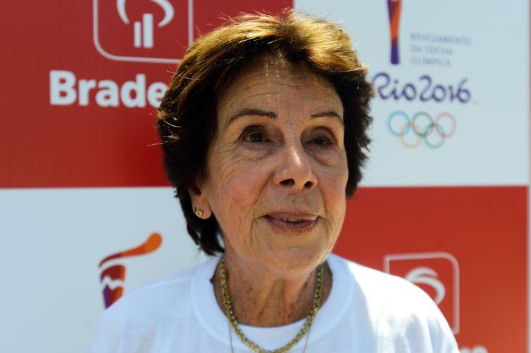 Ex-tenista Maria Esther Bueno
