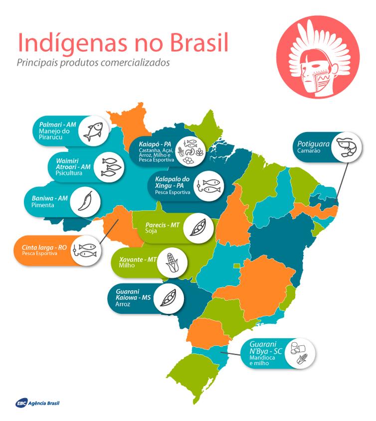 Produção dos povos indígenas