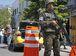 Rio de Janeiro - Operação feita pelas polícias Civil e Militar, com o apoio das Forças Armadas, da Força Nacional de Segurança e da Polícia Federal, no Morro dos Macacos, em Vila Isabel, zona norte do Rio. (Foto: