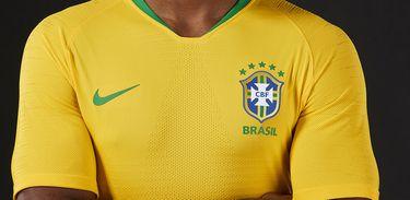 Novo uniforme da Seleção Brasileira