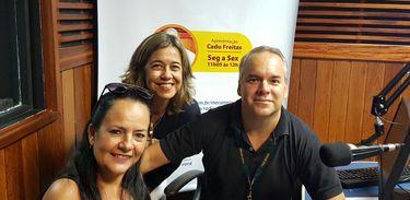 Denise Bóia, Ana Maria Justo e Cadu Freitas