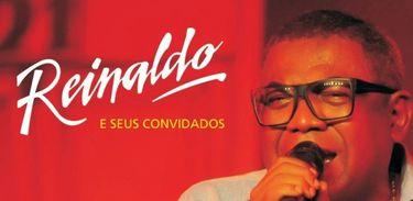 Reinaldo, príncipe do pagode, capa de álbum