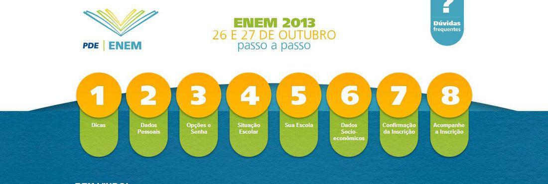 Candidatos relatam lentidão para acessar site do Enem