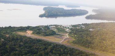 Pelotão especial de fronteira, em Vila Bittencourt, próximo à Colômbia