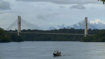 Ponte Binacional liga o Brasil à Guiana Francesa