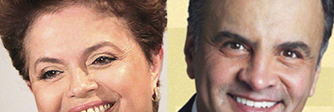 Dilma Rousseff e Aécio Neves disputam o 2° turno das Eleições para Presidente da República