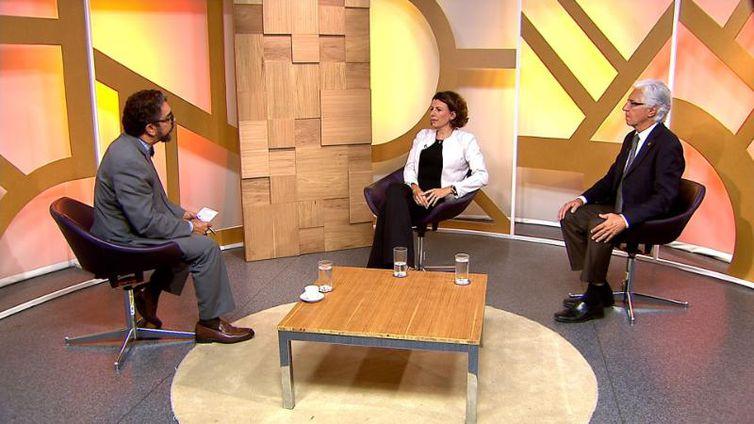 Maranhão Viegas entrevista Fernanda Rezende, da Confederação Nacional do Transporte, e Antonio Maurício Ferreira Netto, Ministério dos Transportes