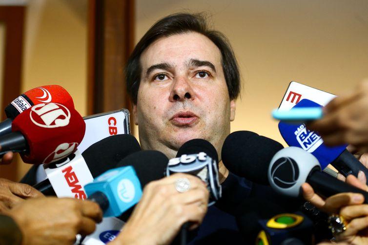 O presidente da Câmara dos Deputados, Rodrigo Maia, faz balanço dos trabalhos da Casa em 2019.