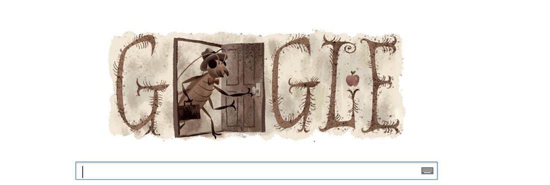 Google faz homenagem a Franz Kafka