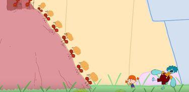 Mika descobre o mundo das formigas