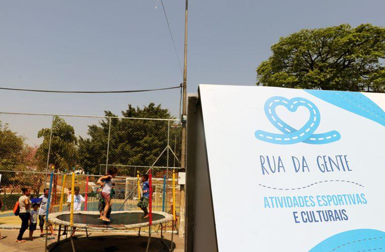 O Programa Rua da Gente é realizado desde setembro deste ano