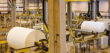 Ortigueira (PR) - O presidente interino Michel Temer participa de inauguração da nova fábrica de celulose da empresa Klabin. A indústria fica em Ortigueira, no interior do Paraná (Isac Nóbrega/PR)