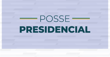 Banner posse Bolsonaro