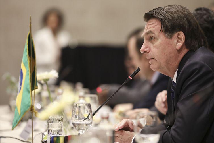 Presidente Jair Bolsonaro participa de Café da manhã oferecido pela Sociedade de Fomento Fabril do Chile, SOFOFA.