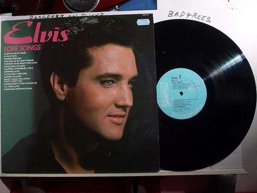 Elvis Presley - capa de disco