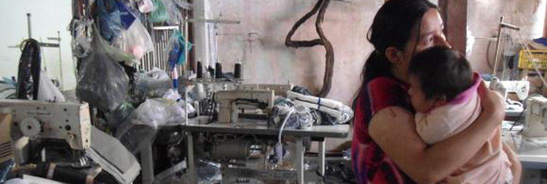 Costura: Trabalho escravo na indústria têxtil