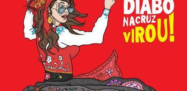 Capa do álbum Virou!, da banda Diabo na Cruz