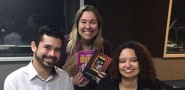 Fabiana Esteves e João Ximenes no Conversa com o Autor