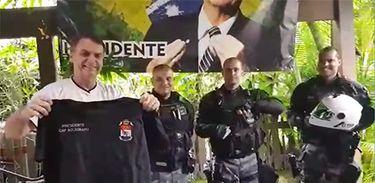 Bolsonaro,GTM, Pelotão de choque