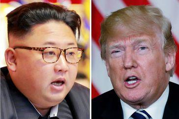 Kim Jong-un e Donald Trump
