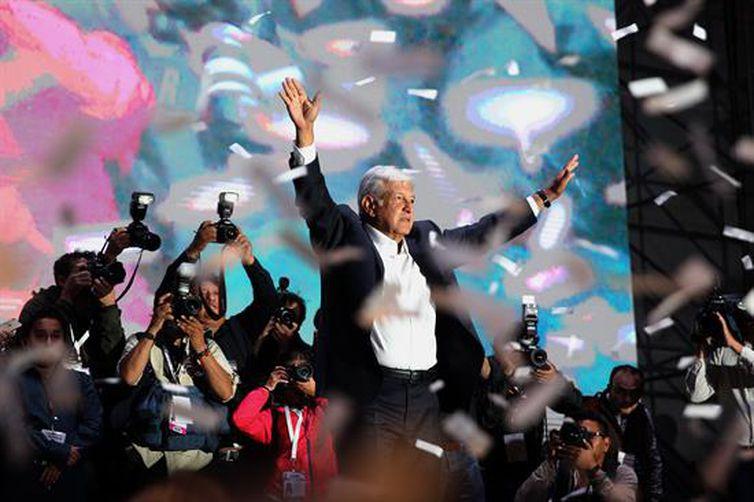 Obrador é eleito novo presidente do México