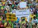 Rio de Janeiro - Manifestantes protestam na praia de Copacabana, na manhã de hoje (4), a favor da Lava Jato e do juíz Sergio Moro. (Tomaz Silva/Agência Brasil)