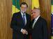 Brasília - Presidente Michel Temer e o presidente do governo do Reino da Espanha, Mariano Rajoy, durante encontro no Palácio do Planalto (Antonio Cruz/Agência Brasil)