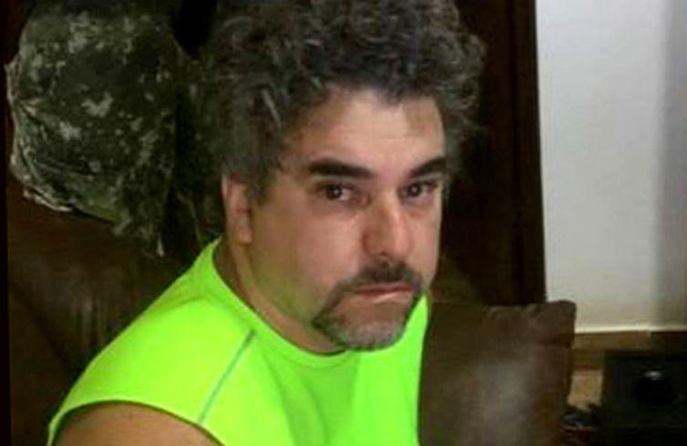 Marcelo Fernando Pinheiro Veiga, o Marcelo Piloto, é preso no Paraguai - Divulgação Polícia do Paraguai