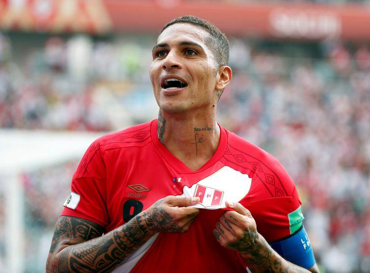Copa 2018, Perú e Austrália, Gol Guerrerol   REUTERS/Max Rossi
