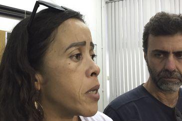 Bruna mãe Marcus Vinicius