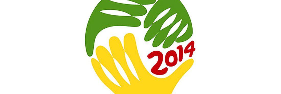 Logomarca da Copa do Mundo de 2014, no Brasil