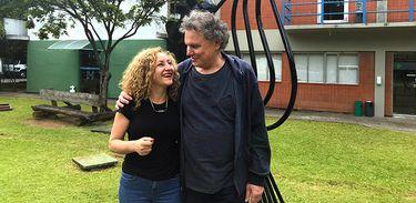 Ana Rosa e Arrigo Barnabé