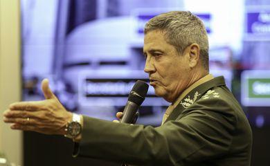 Apresentação do interventor federal, general Walter Braga Netto, no Seminário que discute na Câmara a