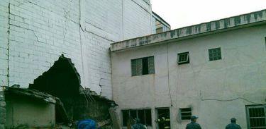 Explosão em caldeira destrói parte de academia em São Bernardo do Campo