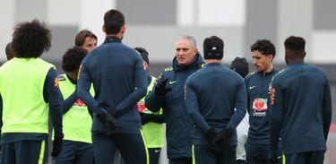 Seleção Brasileira no CT do Spartak em Moscou