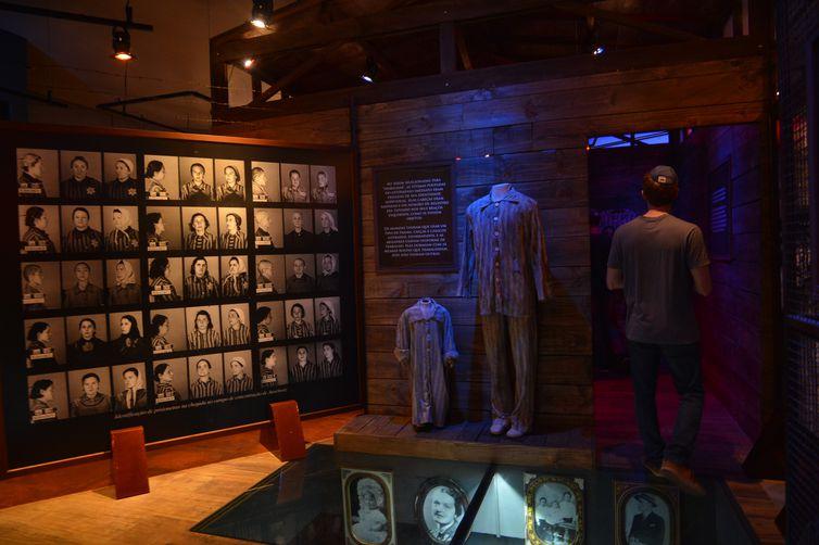 São Paulo - O Memorial da Imigração Judaica inaugura exposição permanente sobre o holocausto, que vitimou mais de 6 milhões de judeus durante a Segunda Guerra Mundial (Rovena Rosa/Agência Brasil)