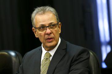 O ministro de Minas e Energia, Bento Albuquerque, lança o Protocolo Digital da Agência Nacional de Mineração.