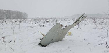 Avião cai nos arredores de Moscou (REUTERS/Stringer)